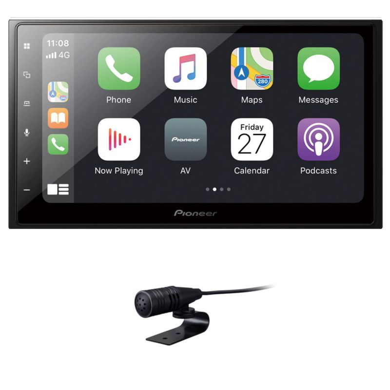 PIONEER SPH-DA250DAB 2-DIN Moniceiver Digitalradio CarPlay Android Auto USB