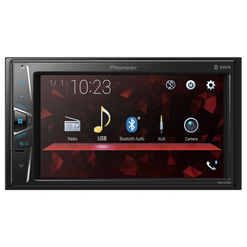 Pioneer DMH-G220BT 2-DIN Moniceiver USB MP3 Bluetooth AUX Touchscreen