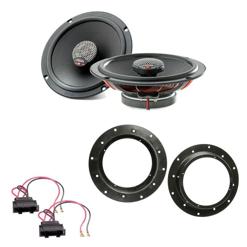 Focal ICU165 2-Wege Koax Lautsprecher Einbauset vorne passend für Octavia Yeti