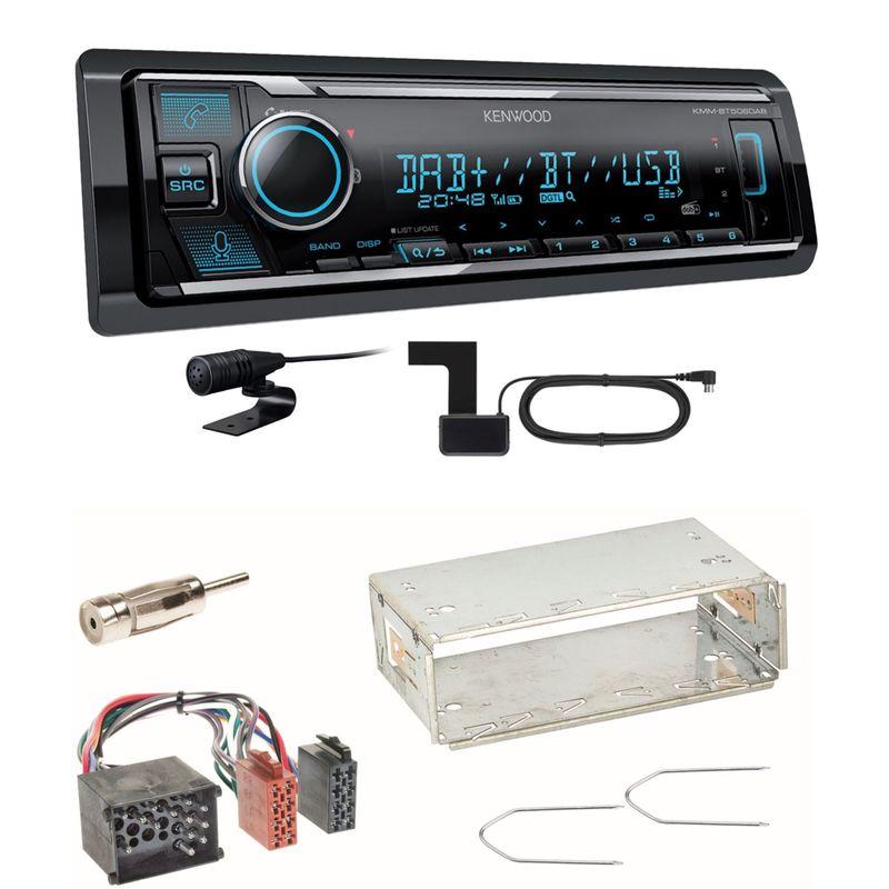 Kenwood KMM-BT506DAB Digitalradio Bluetooth USB Einbauset für BMW E30 E34 E32