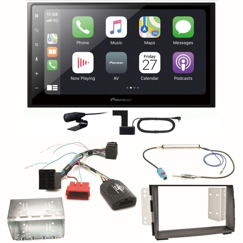 Pioneer SPH-DA250DAB Bluetooth USB Digitalradio MP3 Einbauset für Kia Venga