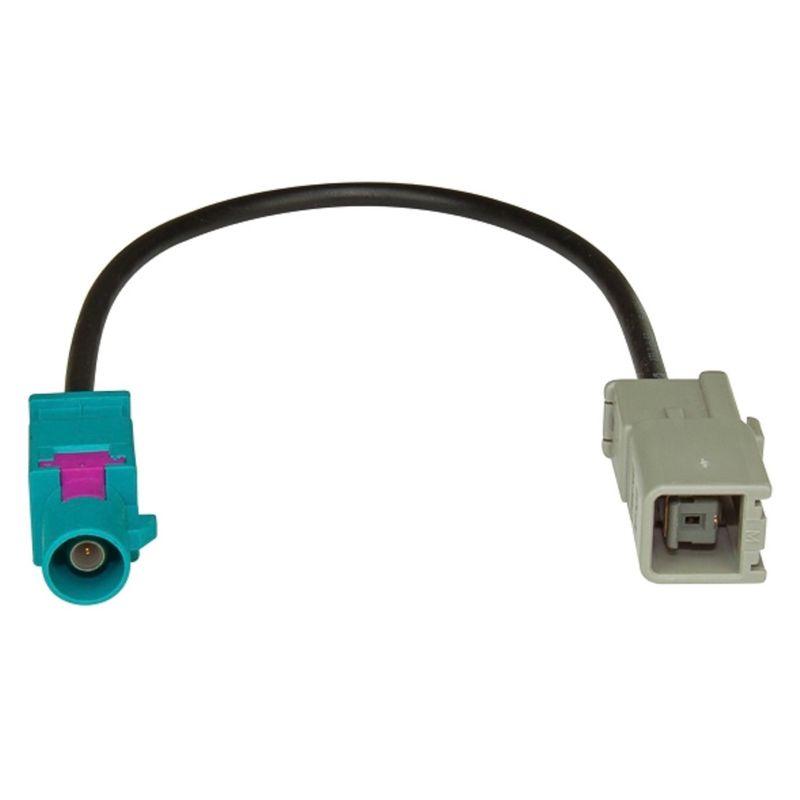 AMPIRE Antennenadapter GPS Fakra (M) > GT5 (F) z. B. für Kenwood und Alpine