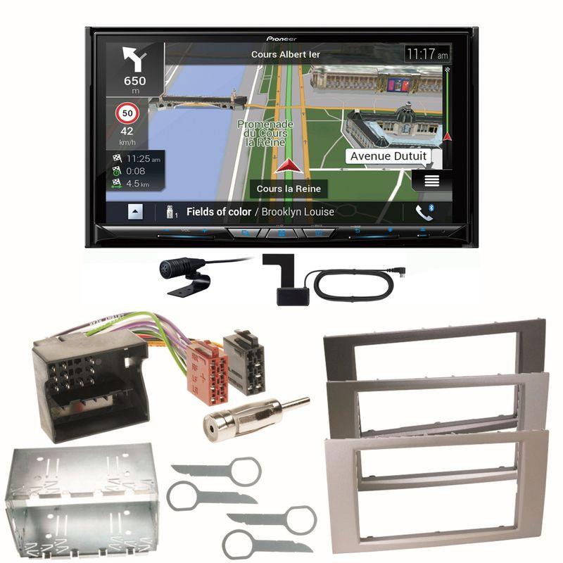 Pioneer AVIC-Z930DAB Navigation USB Einbauset für Ford Focus Fusion Galaxy S-Max