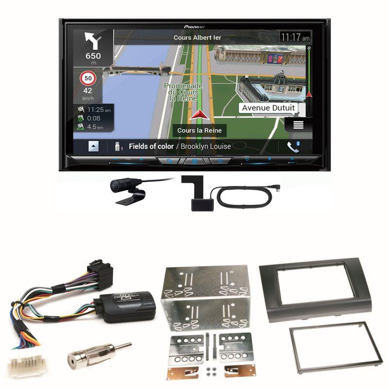 Pioneer AVIC-Z930DAB Navigation Bluetooth Einbauset für Suzuki Swift Sport EZ MZ