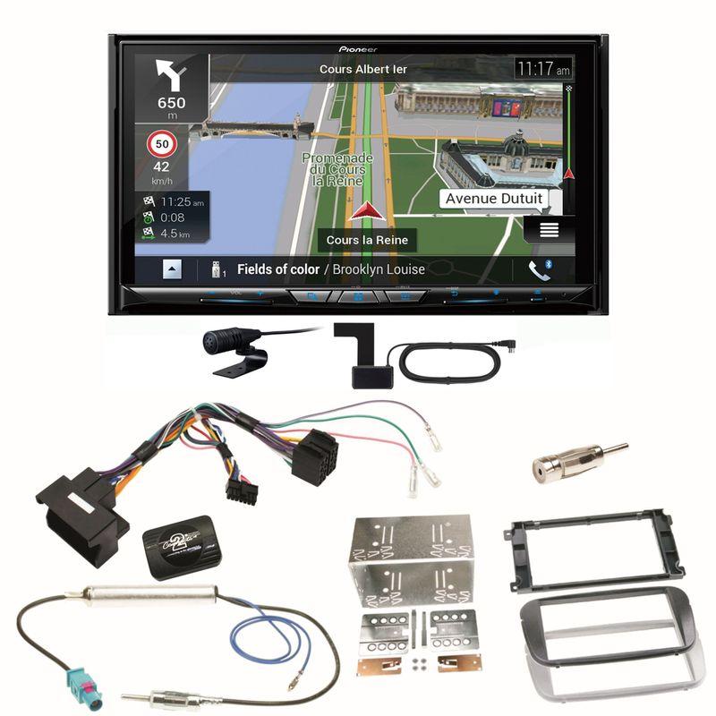 Pioneer AVIC-Z930DAB Navigation USB Einbauset für Ford Focus Mondeo S-Max Galaxy