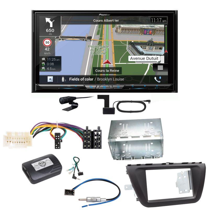 Pioneer AVIC-Z930DAB Navigation Bluetooth USB Einbauset für Suzuki SX4 S-Cross