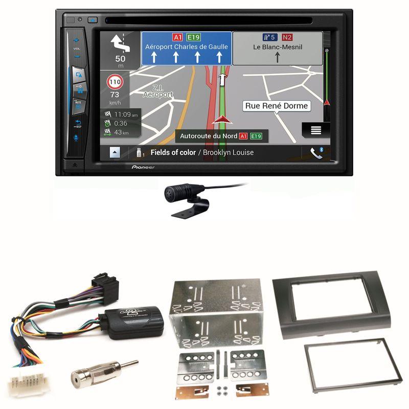 Pioneer AVIC-Z630BT Navigation Bluetooth Einbauset für Suzuki Swift Sport EZ MZ