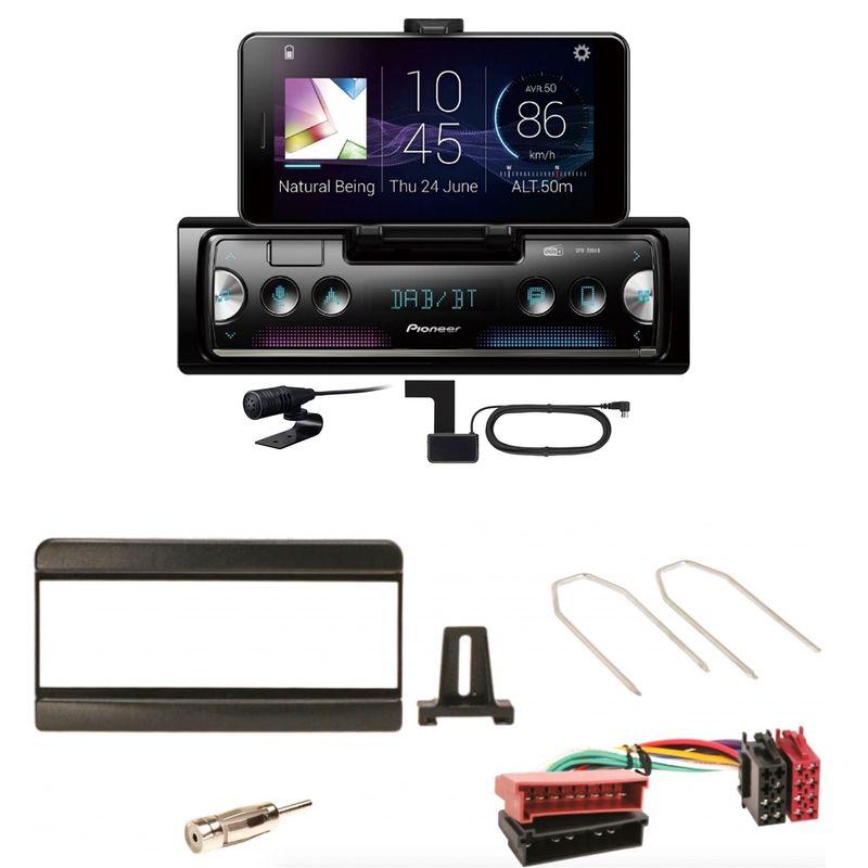 Pioneer SPH-20DAB Digitalradio USB MP3 Einbauset für Focus Fiesta Puma Mondeo