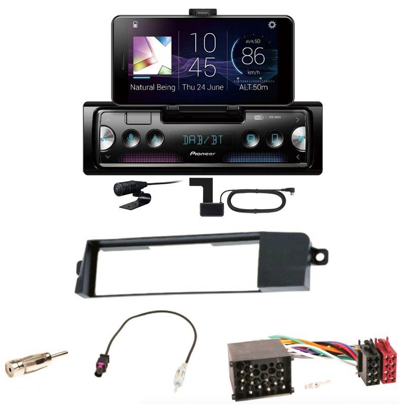 Pioneer SPH-20DAB Digitalradio Bluetooth USB FLAC MP3 Einbauset für BMW 3er E46