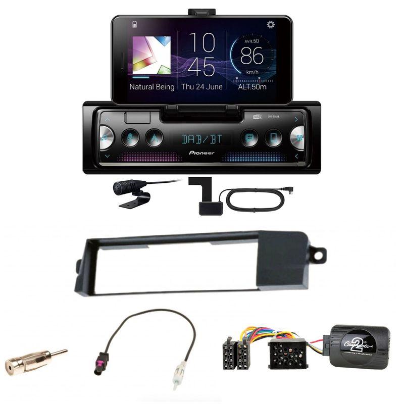 Pioneer SPH-20DAB Digitalradio Bluetooth AUX FLAC MP3 Einbauset für BMW 3er E46