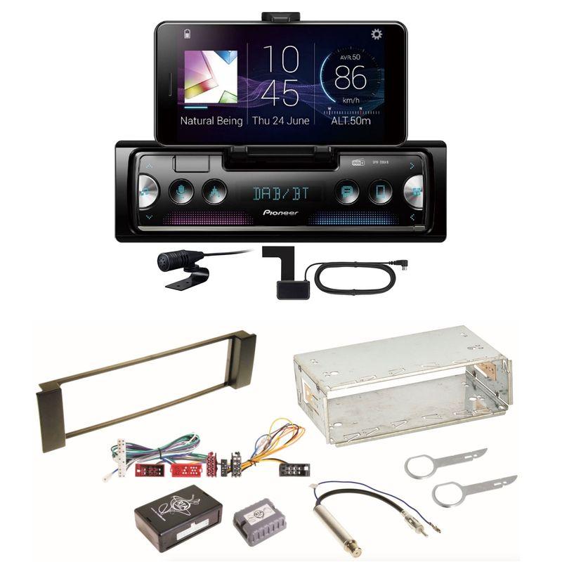 Pioneer SPH-20DAB Digitalradio Bluetooth FLAC Einbauset für Audi A3 8L A6 4B
