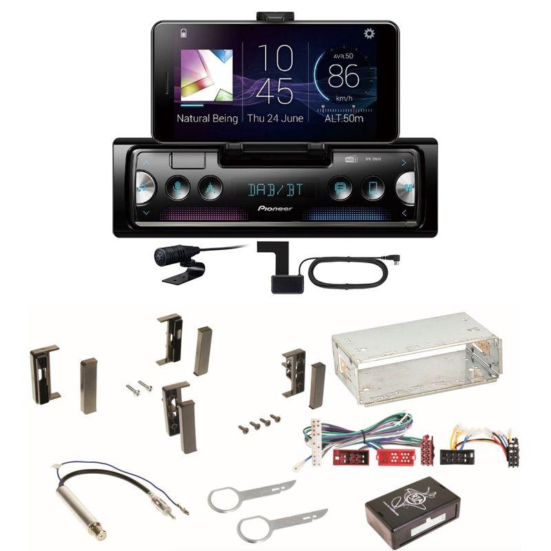 Pioneer SPH-20DAB Digitalradio Bluetooth USB FLAC Einbauset für Audi A3 8L