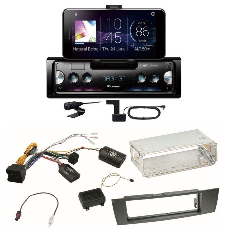 Pioneer SPH-20DAB Digitalradio Bluetooth FLAC Einbauset für BMW E90 E91 E92 E93