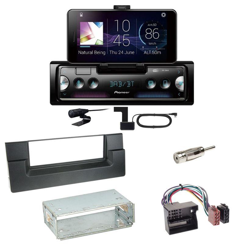 Pioneer SPH-20DAB Digitalradio Bluetooth Einbauset für BMW 5er E39 ab 10/2000