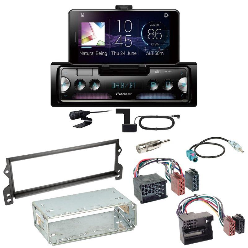 Pioneer SPH-20DAB Digitalradio Bluetooth USB FLAC Einbauset für MINI R50 R52 R53