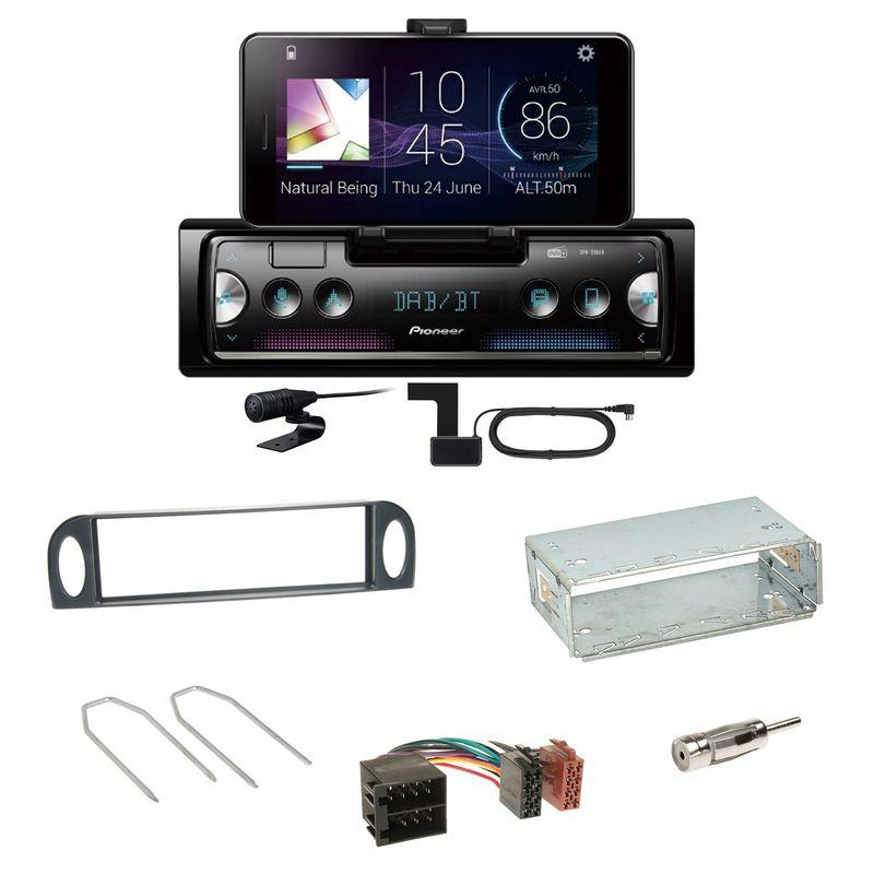 Pioneer SPH-20DAB Digitalradio Bluetooth Einbauset für Citroen C5 bis 07/2004