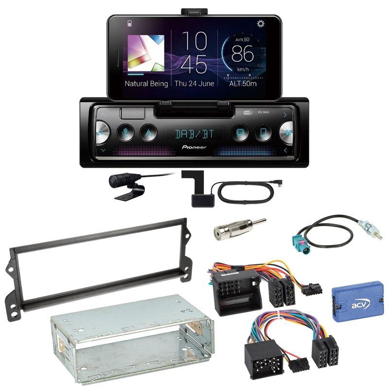 Pioneer SPH-20DAB Digitalradio Bluetooth FLAC Einbauset für MINI R50 R52 R53