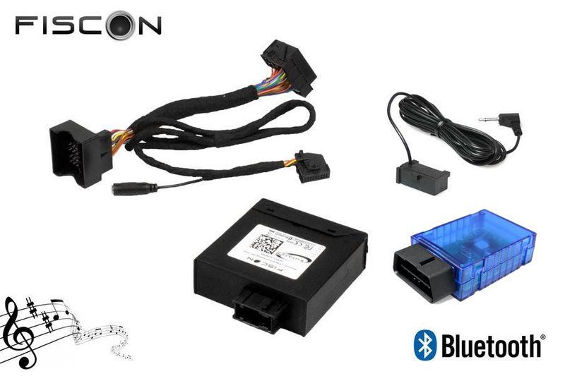 FISCON Bluetooth Freisprecheinrichtung passend für VW Seat Skoda Audi MQB Low inkl. Codierdongle