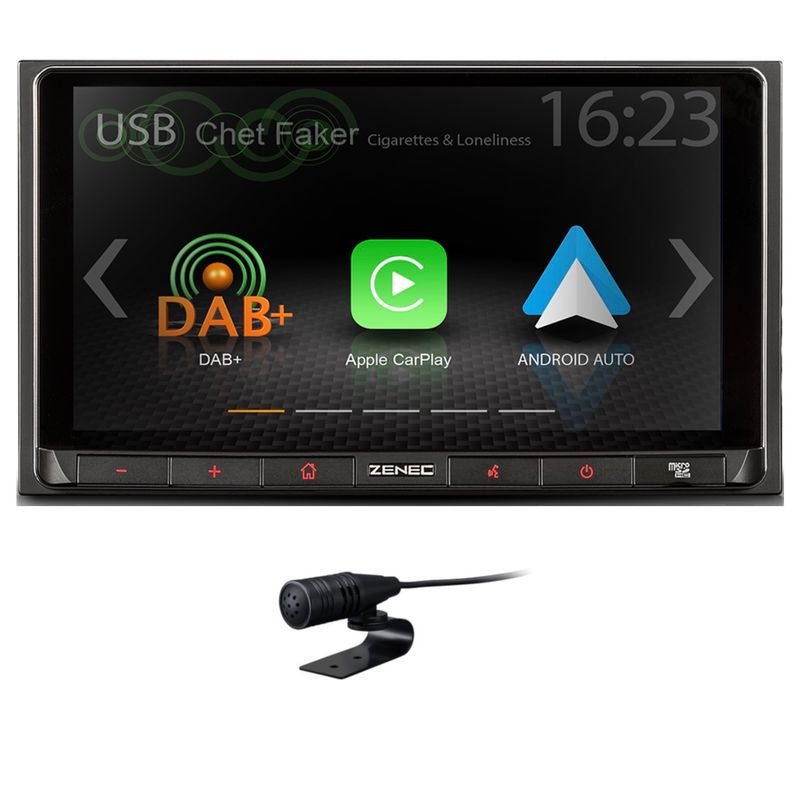 ZENEC Z-N528 2-DIN Moniceiver CarPlay Android Auto Bluetooth Digitalradio DAB+
