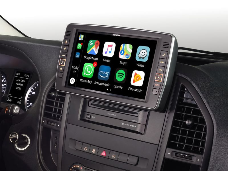 ALPINE X903D-V447 passend für Vito 447 Navigation Android Auto CarPlay