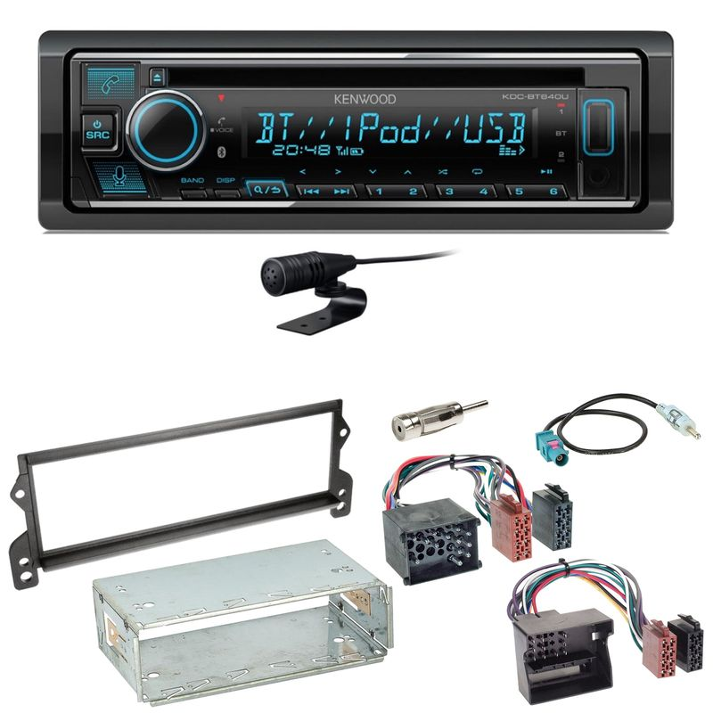 Kenwood KDC-BT640U Bluetooth USB CD Autoradio MP3 Einbauset für MINI R50 R52 R53