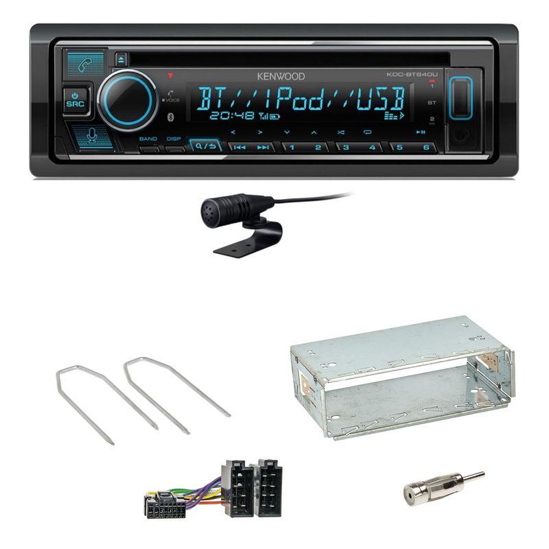 Kenwood KDC-BT640U Bluetooth USB MP3 Einbauset für Renault Kangoo KC Laguna 1 2