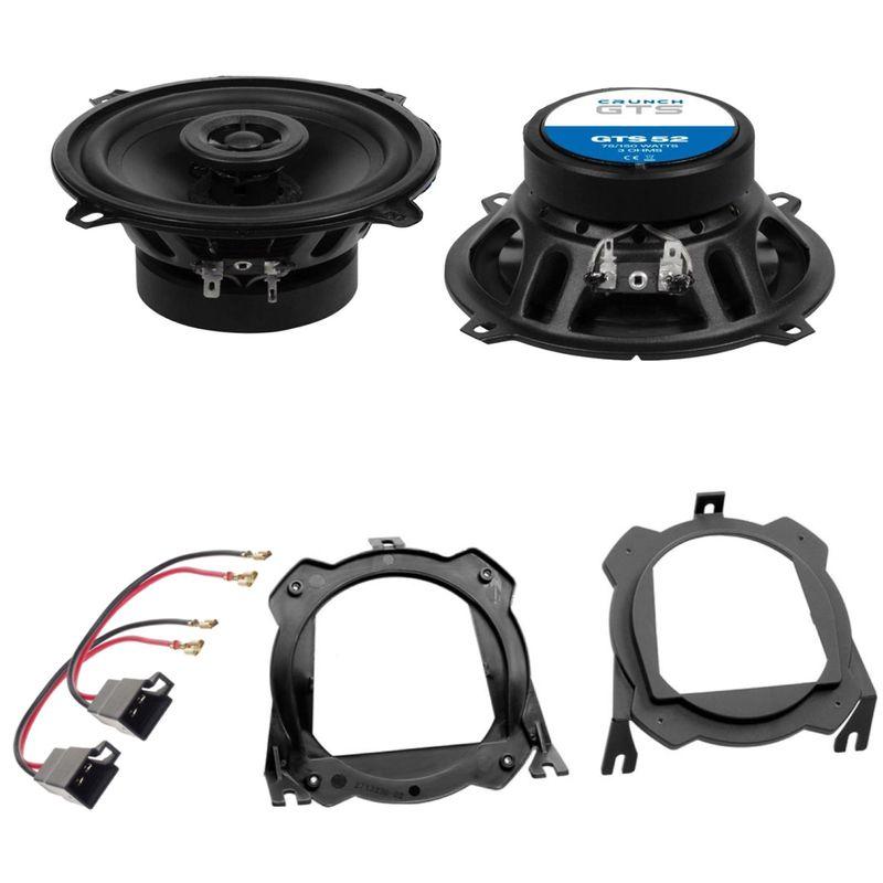 Crunch GTS-52 Lautsprecher Einbauset für Corsa C B Tigra seitliche Heckablage