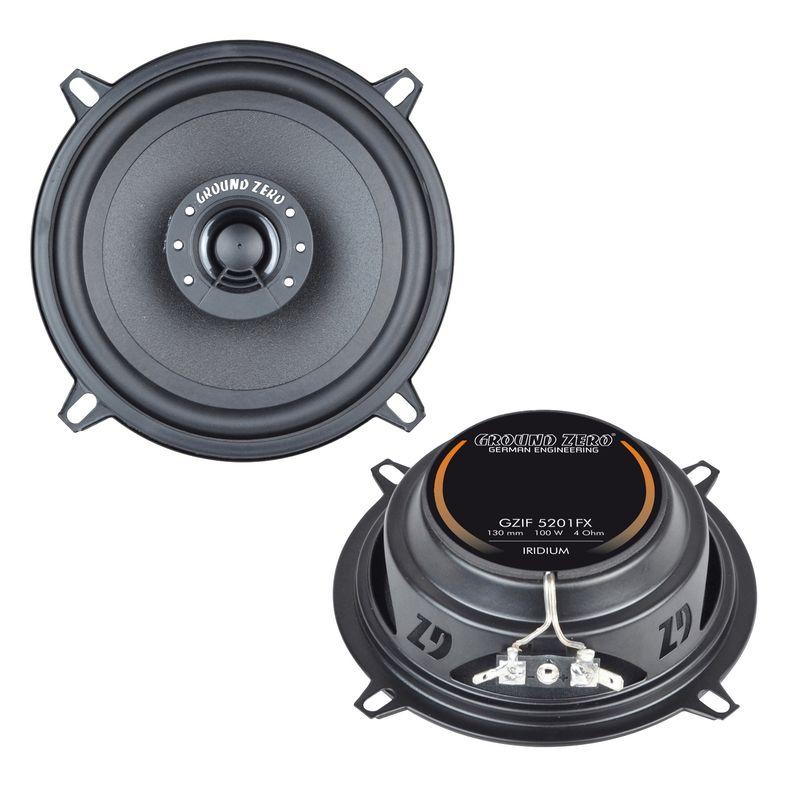 Ground Zero 5201FX Lautsprecher Einbauset für BMW 5er E34 Touring Limousine