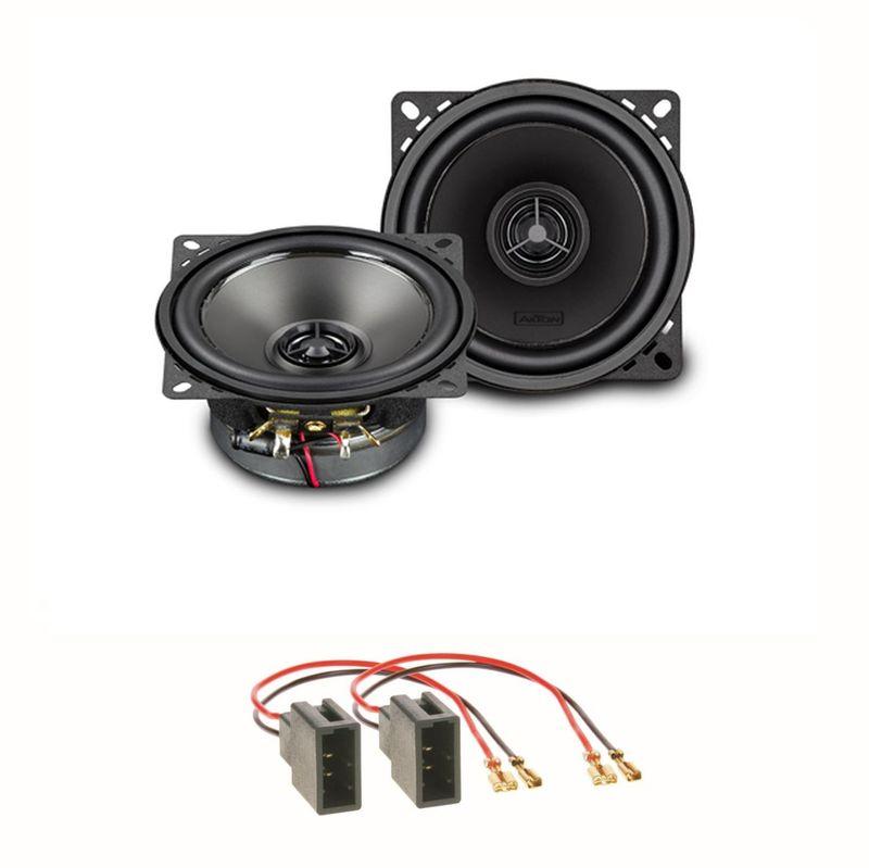 AXTON ATX100 Lautsprecher Set für Citroen C1 Toyota Aygo Peugeot 107