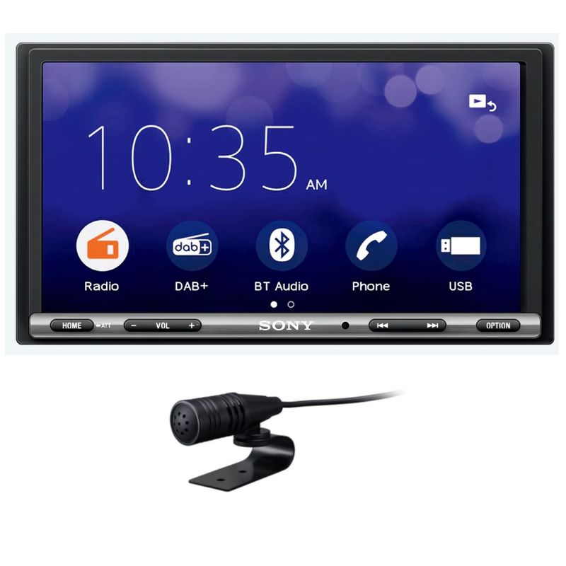 Sony XAV-3550D 2-DIN Moniceiver Weblink Bluetooth Digitalradio DAB+
