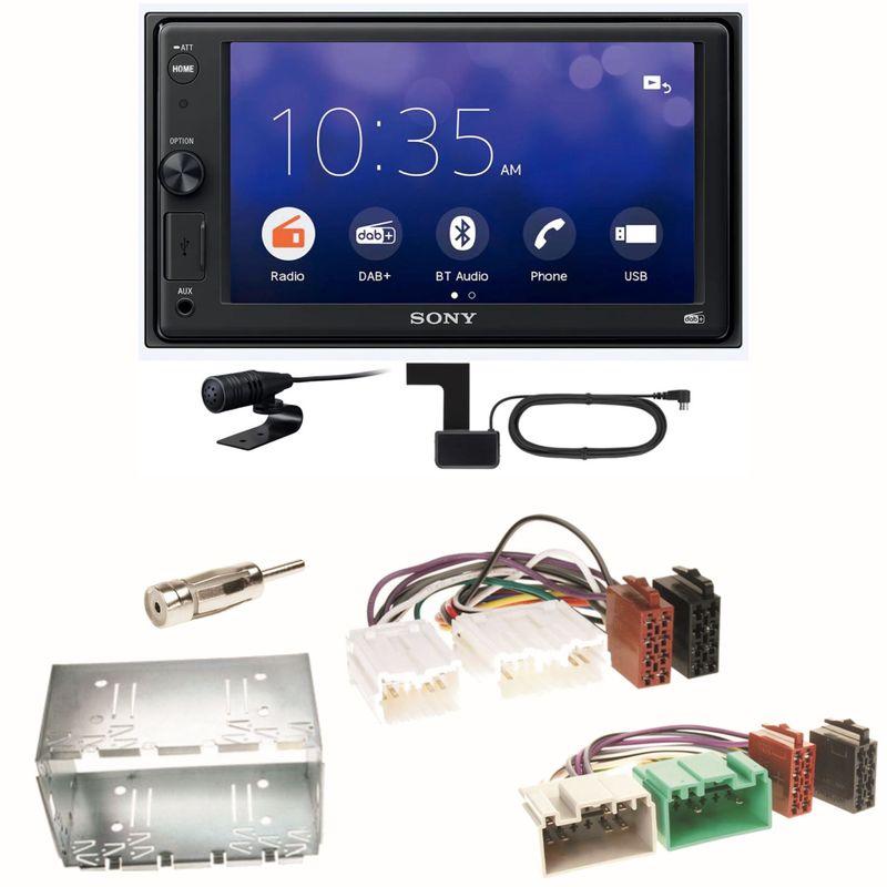 Sony XAV-1550D Moniceiver Weblink Digitalradio Einbauset für Volvo S40 V40 850