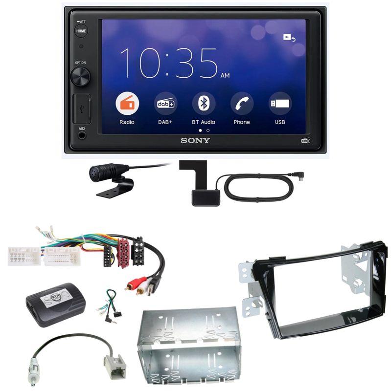 Sony XAV-1550D Moniceiver Weblink Digitalradio USB Einbauset für Hyundai i40 VF