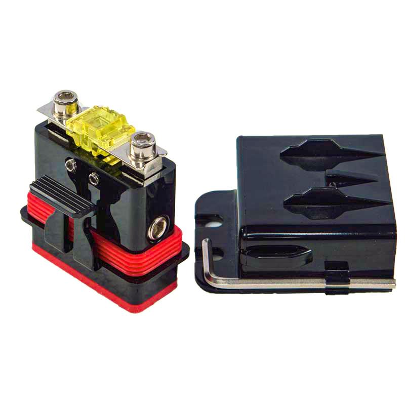 AMPIRE XSM25 Sicherungshalter Set 25mm² mit AFS-Sicherung Mini-ANL wasserdicht