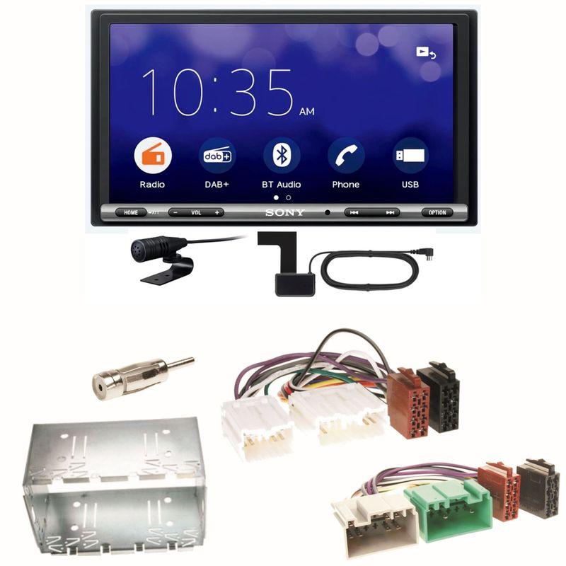 Sony XAV-3550D Moniceiver Weblink Digitalradio Einbauset für Volvo S40 V40 850
