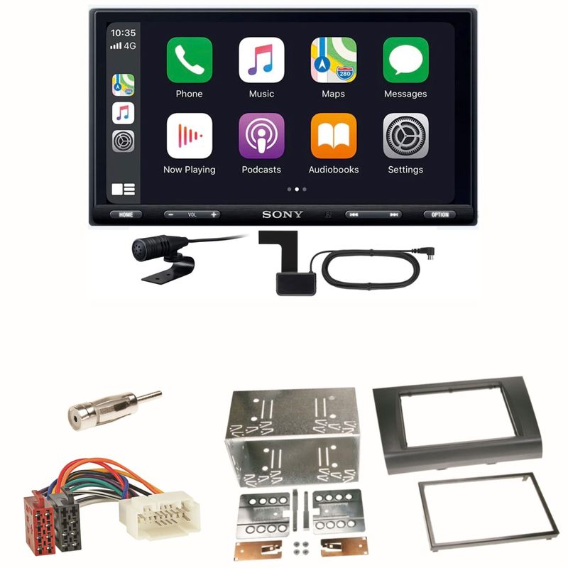 Sony XAV-AX5550D Moniceiver CarPlay DAB+ Einbauset für Suzuki Swift Sport EZ MZ