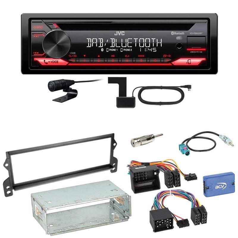 JVC KD-DB622BT Bluetooth Digitalradio Autoradio Einbauset für MINI R50 R52 R53