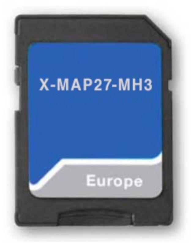 XZENT X-MAP27-MH3 Navigationssoftware für Xzent X-F270 X-427