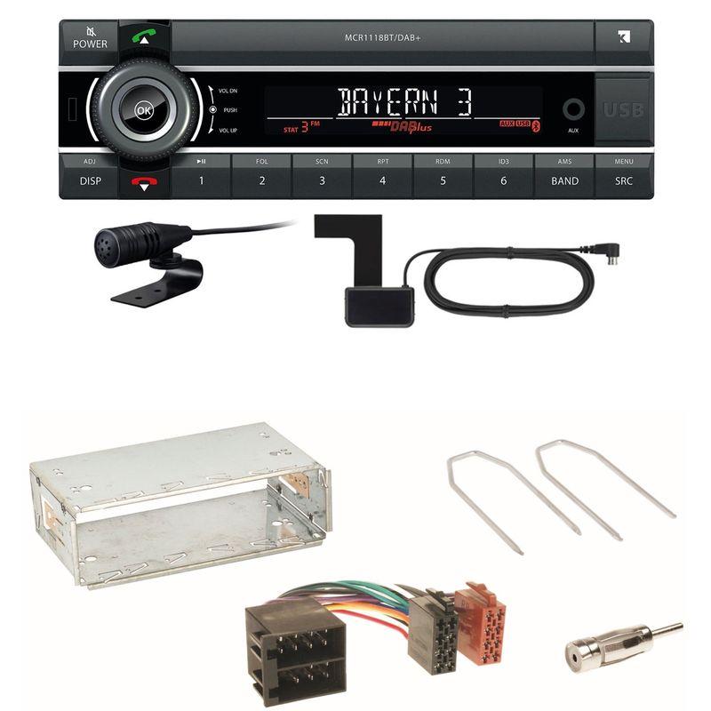 Kienzle MCR 1118 DAB Bluetooth DAB+ Einbauset für Citroen Berlingo bis 2007