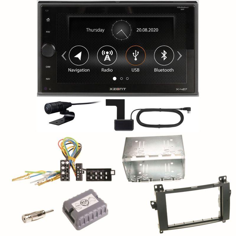 Xzent X-427 Digitalradio Bluetooth USB Einbauset für Mercedes Vito Viano W639