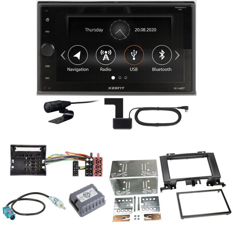 Xzent X-427 Digitalradio Bluetooth Einbauset für Mercedes Sprinter W906 Crafter