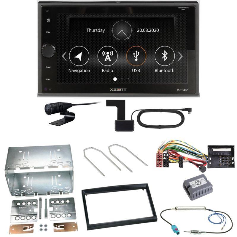 Xzent X-427 Digitalradio Bluetooth Einbauset für Peugeot 207 307 Partner Expert