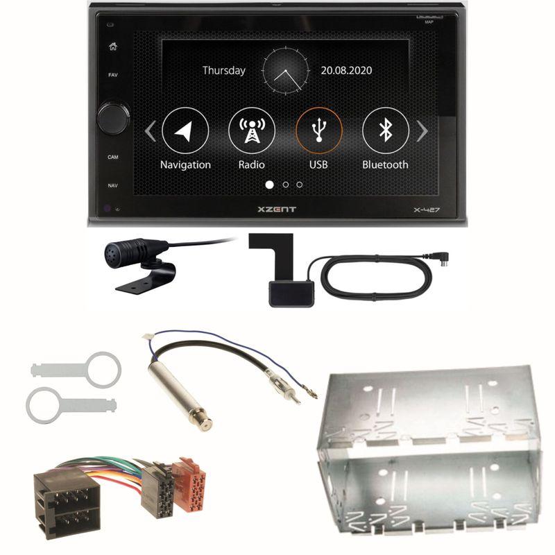 Xzent X-427 Digitalradio Bluetooth USB Einbauset für Polo 6N2 9N Bora Ibiza 6L