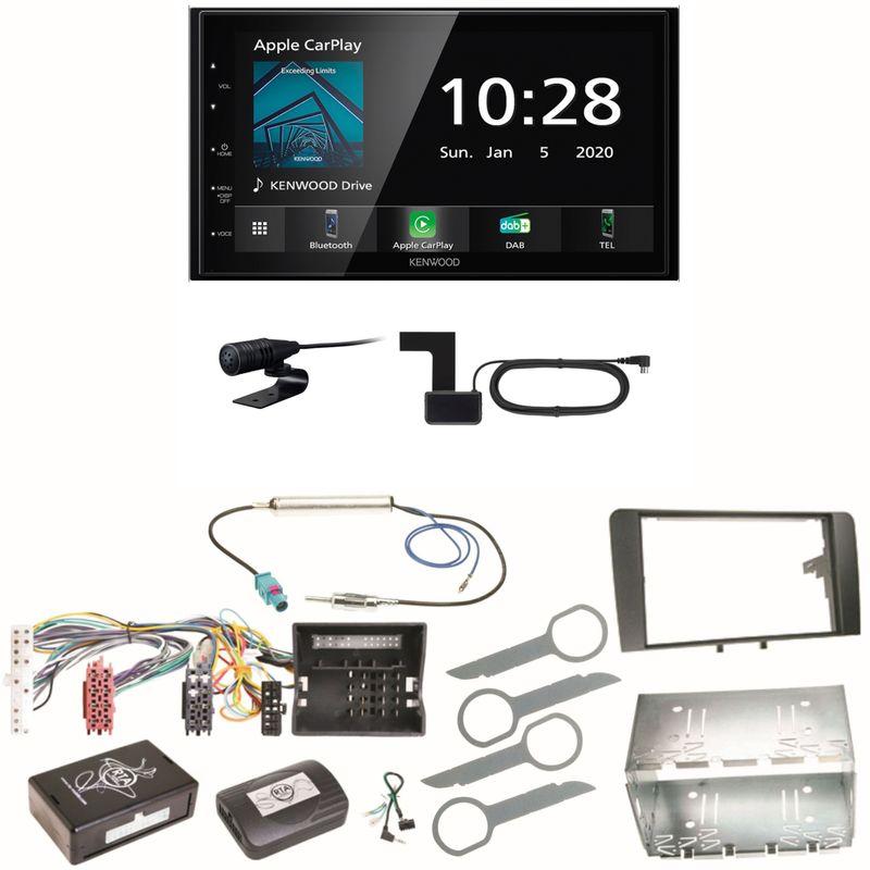Kenwood DMX5020DABS Android Auto CarPlay Einbauset für Audi A3 8P 8PA