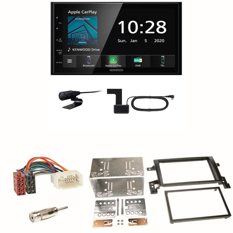 Kenwood DMX5020DABS Android Auto CarPlay Einbauset für Suzuki Grand Vitara JT