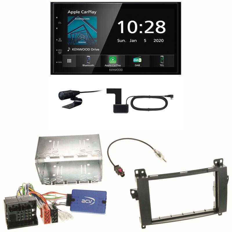Kenwood DMX5020DABS Android Auto CarPlay Einbauset für Mercedes Vito W447