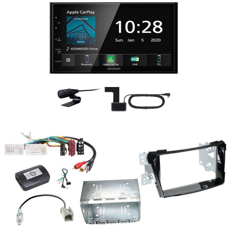Kenwood DMX5020DABS Android Auto CarPlay Einbauset für Hyundai i40 VF