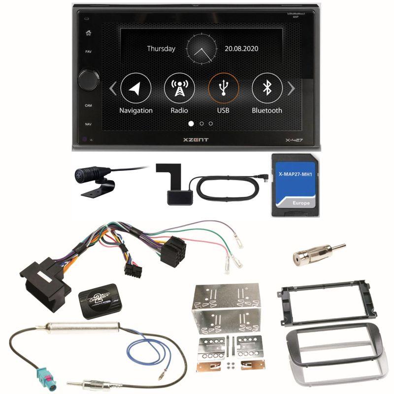 Xzent X-427 Navigation Digitalradio Einbauset für Ford Focus Mondeo S-Max Galaxy