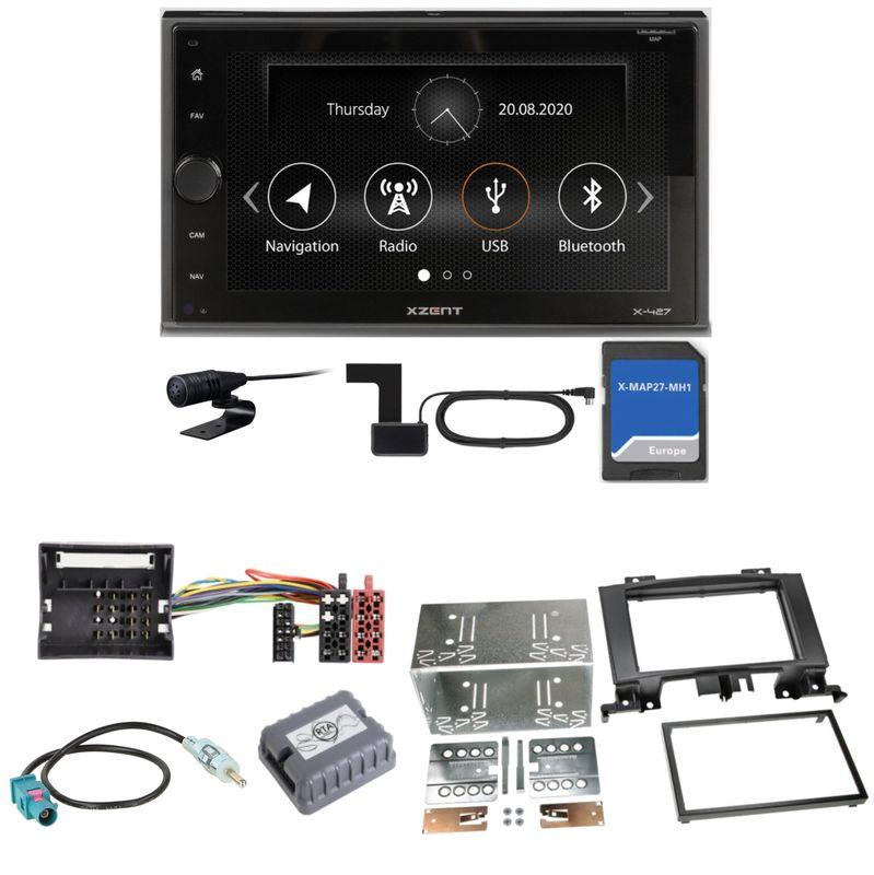 Xzent X-427 Navigation Digitalradio Einbauset für Mercedes Sprinter W906 Crafter