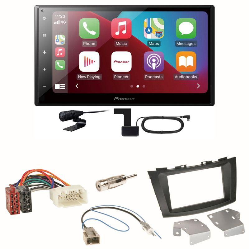 Pioneer SPH-DA160DAB Android Auto CarPlay Einbauset für Suzuki Swift Sport FZ NZ