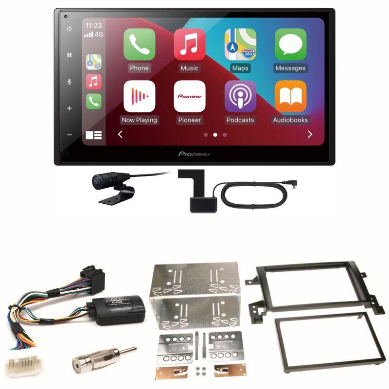 Pioneer SPH-DA160DAB Android Auto CarPlay Einbauset für Suzuki Grand Vitara JT